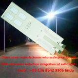Preiswerter Preis und Qualität 50W alle in einer Solarbeleuchtung der straßen-LED