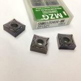 Clip-Tipo pieza inserta indexable del carburo cementado del acero de tungsteno del CNC