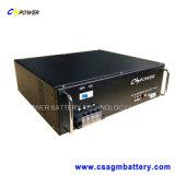 LiFePO4 литий 48V 20ah блок батарей телекоммуникаций 19 дюймов с жизнью цикла 10000 в 50%Dod