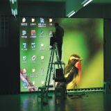 P7.62 HDレンタル段階のためのフルカラーの屋内LED表示スクリーン
