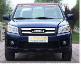 Recolección doble del diesel del motor de Isuzu de la cabina de Jmc 4*4