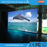 HD P2.5 실내 풀 컬러 발광 다이오드 표시 스크린