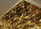 Iluminación lujosa del techo con el cristal para el hotel o el restaurante