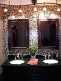 Salle de bain des armoires en chêne