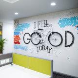 Настенная роспись стены PVC самой новой собственной личности слипчивая