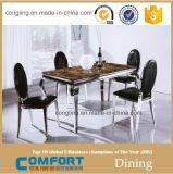Moderne elegante ausgeglichenes Glas-Tisch-Esszimmer-Möbel A8029