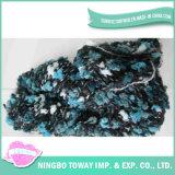 Alta força da mão de tricô tecelagem de algodão fios de fantasia
