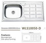 Dispersore Wls10050-D della lavata del dispersore di cucina dell'acciaio inossidabile