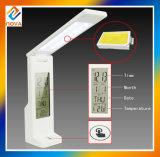 Lámpara de mesa LED con sensor de contacto Dimmable con calendario LCD