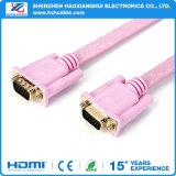 5FT flaches VGA-Kabel mit Schrauben