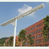 50W lumens élevés de bonne qualité tout dans un réverbère solaire de DEL avec la FCC de la CE