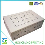 Изготовленный на заказ напечатанные логосом складные коробки подарка картона