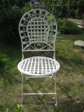 옥외와 실내 의자를 접히는 중국 가져오기 싼 고대 백색 라운드