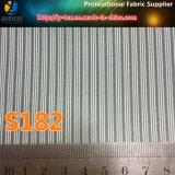 Klage-Hülsen-Futter in Garn gefärbtem Streifen-Gewebe für Kleid (S162.182)