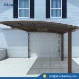 Panneau simple en aluminium imperméable à l'eau de polycarbonate de parking