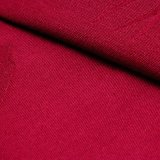 Tessuto di cotone dello Spandex della ratiera per i pantaloni degli uomini nel colore rosso