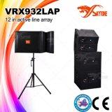 Ligne professionnelle alignement du haut-parleur Vrx932lap de système de PA