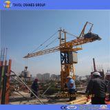 Guindaste de torre do tipo de Tavol para a construção
