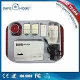 Sistema de alarma móvil manual inteligente del G/M de la llamada de la dial auto