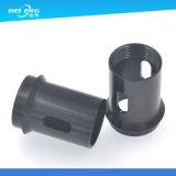 Präzision CNC, der kundenspezifische kleine Stapel-Schwarzes Delrin Teile maschinell bearbeitet