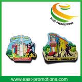 Выполненный на заказ мягкий магнит холодильника PVC для сувенира