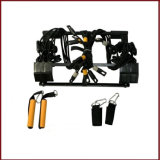 Einfaches verwendetes preiswertes bewegliches faltbares Hauptgymnastik-Tür-Eignung-Geräten-Aufsatz-Training