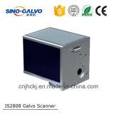 Máximo 400 explorador de laser del galvanómetro de la alta exactitud Js2808 del hertzio para la máquina de la marca del laser