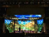 Schermo dell'interno di salone dell'automobile della visualizzazione di esposizione in tensione di radiodiffusione LED (P4.81)