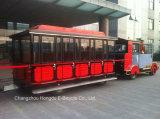 62 sièges touristique touristique train électrique pour parc ou centre de villégiature