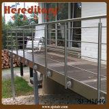 Balaustrada exterior do aço inoxidável para o projeto/trilhos do cabo (SJ-X1005)