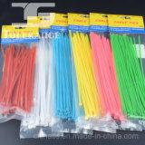 Atadura de cables de nylon plástica durable