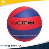 Vario voleibol desinflado color vibrante de la PU de la talla