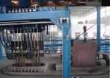 Máquina de colada continua del cobre y del tubo de Alu