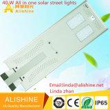 Éclairage solaire pour lampe LED 40W avec batterie Life Po4