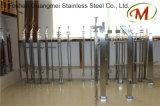 Acero del final que enarena y poste material de la escalera de madera (GM-B068/GM-101-1/GM-B070)