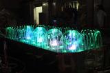 Fuente musical del baile de la fuente de agua de la fuente del jardín