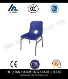 Hzpc024 수용량 디자이너 검정 까만 프레임을%s 가진 플라스틱 더미 의자
