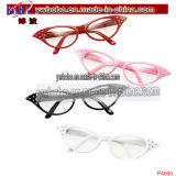Plástico Partido Gafas de sol Gafas Resplandor en DTh Dark Party (PG2003)