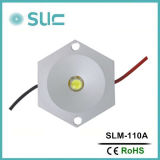 1W Aluminium-LED Pixel Light/LED Module/LED PUNKT Licht für Innenbeleuchtung (Slm-110)