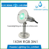 316 inoxydable IP68 LED Swimming Underwater Pool Light