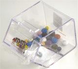 完全に明白なコレクションキャンデーの大箱及びスコップの好意