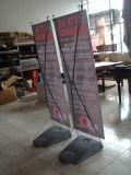 Stand d'affichage extérieur X Banner avec Waterbox