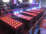 72*5W RGB/RGBW/RGBA/UV/Wa LEDの壁の洗濯機LEDのフラッドライトLEDの防水段階ライト