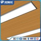 Perfil de alumínio do escudo do diodo emissor de luz do fornecedor da fábrica de China com cor diferente