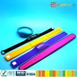 4K Wristband do silicone do byte INFINEON CIPURSE4move RFID para o pagamento