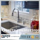 Materiais projetados de Worktops dos materiais de construção com tamanho feito sob encomenda para a cozinha