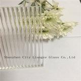 El vidrio de modelo imprimió el vidrio/el vidrio rodado/calculó el vidrio de /Rolled del vidrio de cristal/claro/del vidrio modelado con el modelo de onda de la olita para adornado