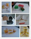 Alimentación automática de papel bandeja de la caja que hace la máquina