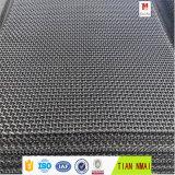網3X3のステンレス鋼のひだを付けられた金網の製造