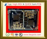BGA+Impedance Steuergedrucktes Leiterplatte-Prototyp Schaltkarte-Hersteller